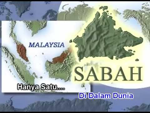 Borneo Sabah Hanya Satu- Asmin Mudin (Karaoke)