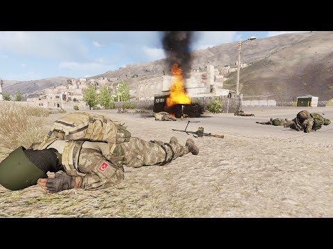 Arma 3 Movie: Turkey's Anti-terror Op Northern IRAQ