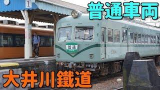 大井川鐵道 新金谷駅 レトロな電車たち