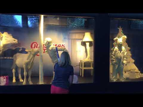 Kat Jackson - OH State Fair A Christmas Story Butter Sculpture