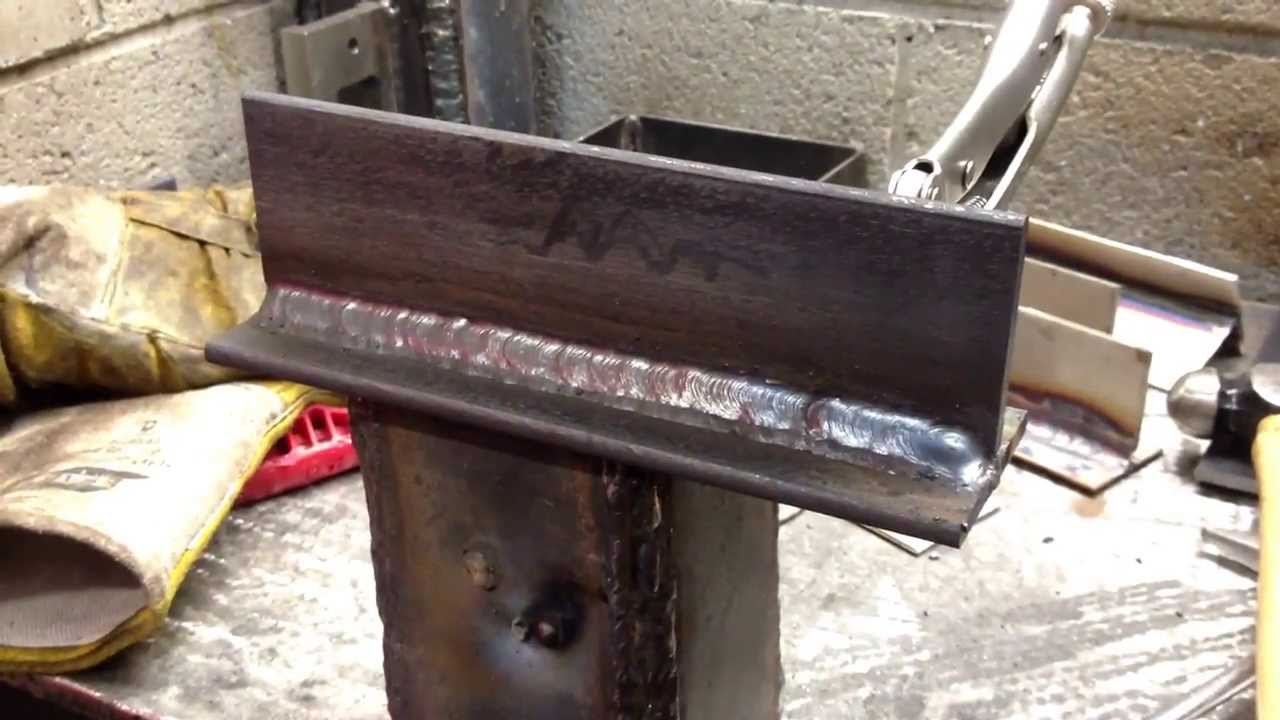 Three Tee Fillet Weld