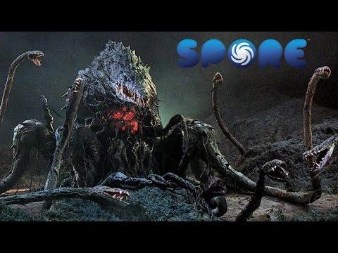Spore: Kaiju Creation - Biollante Final Form - YouTube