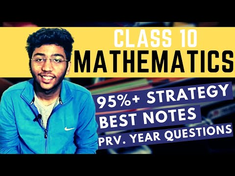 Class 10 Maths Boards Strategy | How to Score 95% in Class 10 Boards 2021