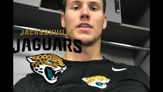 Tryout with the Jaguars   Andrew East