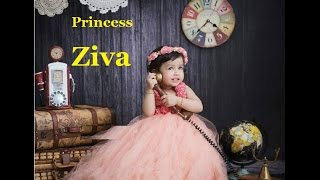 ms dhoni daughter princess ziva dhoni very cute video aww you feel awesome   sakshi dhoni