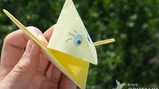 Ворона оригами