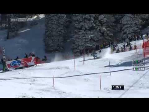 Tina Maze | 3. Platz | 2. DG | Slalom Lenzerheide | 16.3.2013