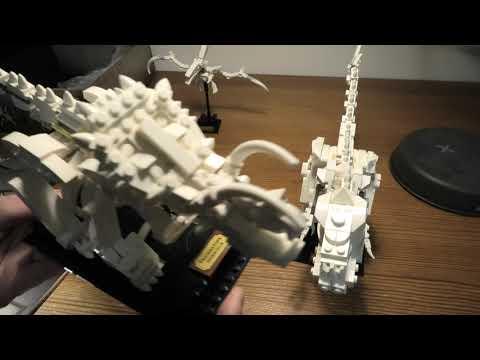 Review Lego Ideas Dinosaur Fossils SET 21320 4K