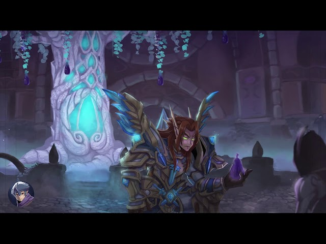 Hero of Suramar Motion Painting