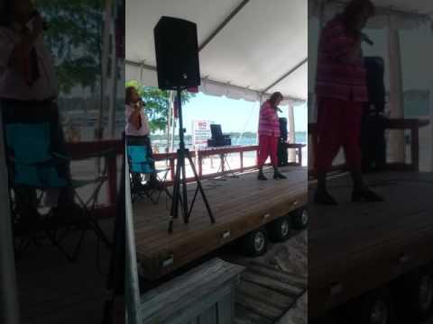 Wanda Barber sings at The White Lake Water Festival !!!