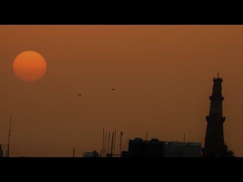 Sunrise Beautiful Delhi Morning