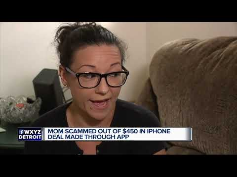 Local mom buys iPhone from online seller, ends up with 2 bars of soap and loses $450