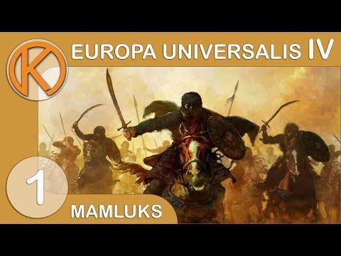 EU4 Cradle of Civilization - Mamluks | DELTA MERCHANTS - Ep. 1 | Let's Play Europa Universalis IV