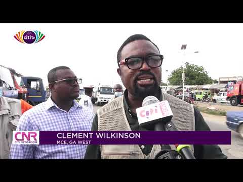 Hawkers relocated to ease traffic congestion on Amasaman-Accra road | Citi Newsroom