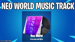 *NEW* FORTNITE NEO WORLD LOBBY MUSIC TRACK SEASON 9 BATTLE PASS
