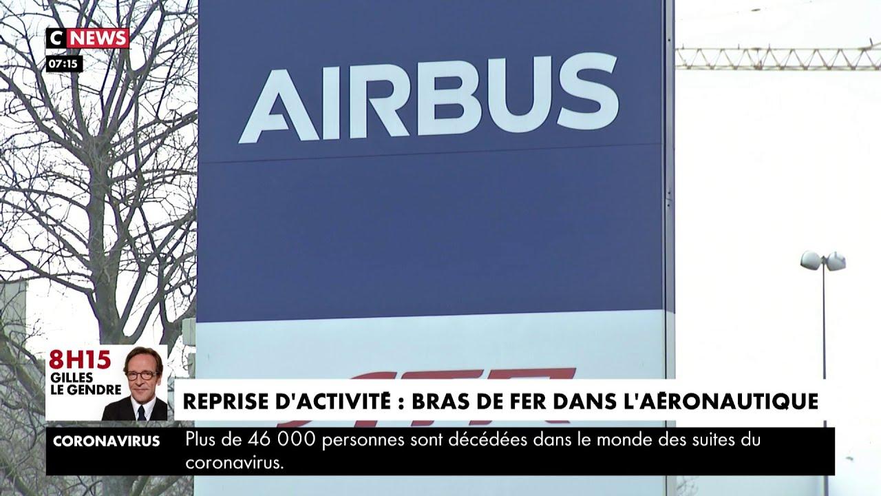 Toulouse : bras de fer dans l'aéronautique face à la reprise d'activité d'Airbus,