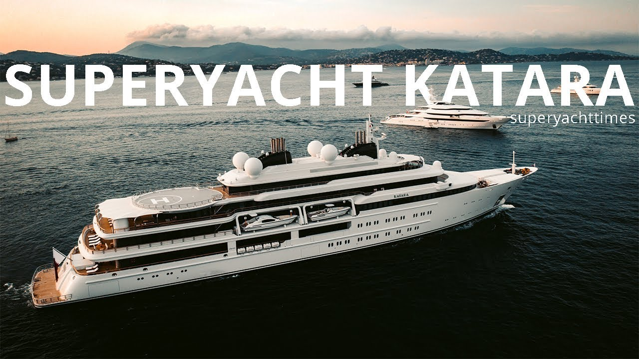 124m Lurssen Yacht Katara Video Superyacht Times