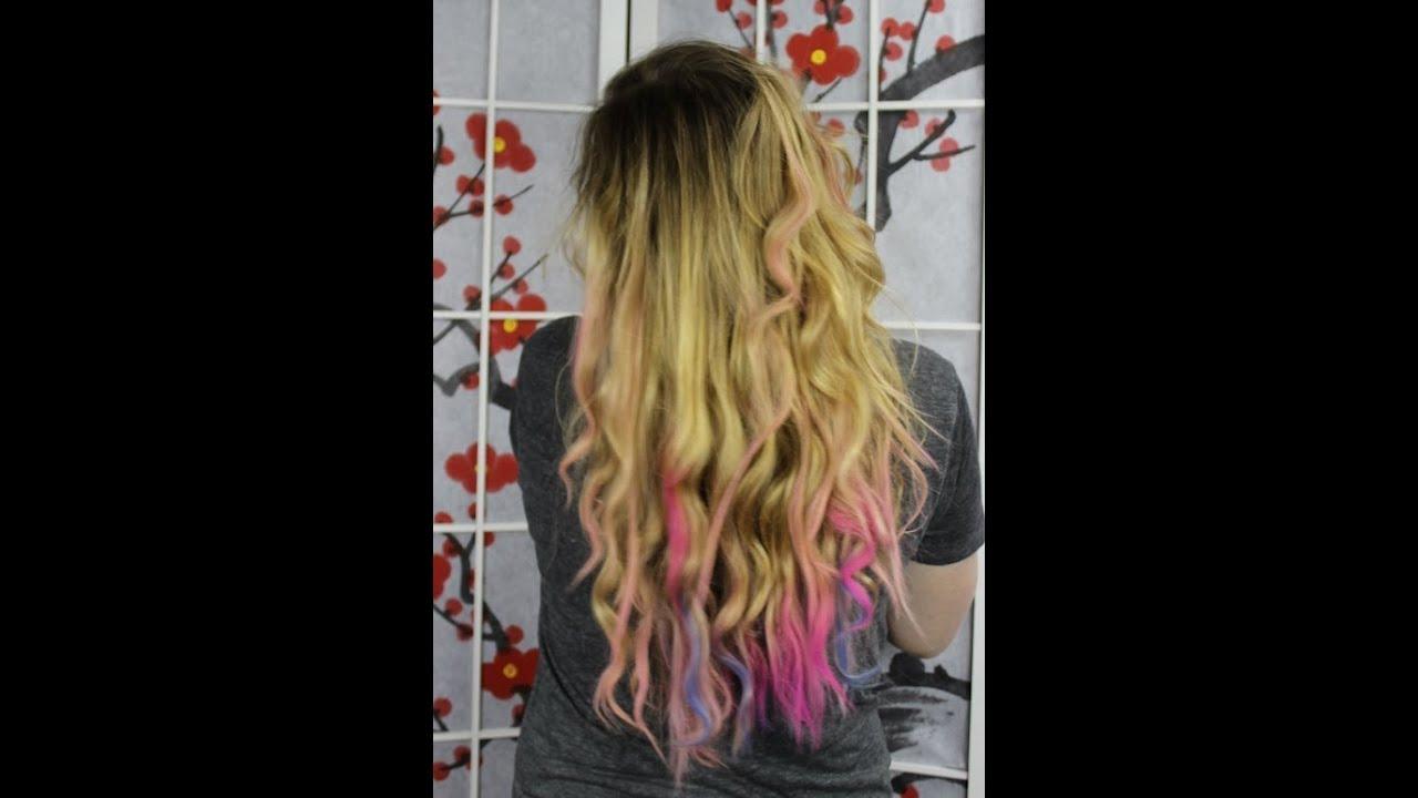 Haare Mit Kreide Färben