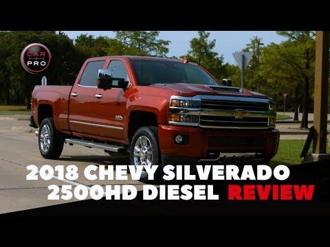 The 2018 Chevrolet Silverado 2500HD Duramax Diesel Is A Tough Workhorse