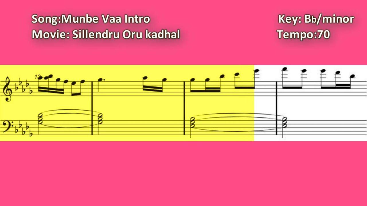 Munbe Vaa - Piano Chords - Chordify