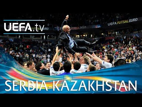 Futsal EURO Highlights: Watch Kazakhstan claim historic bronze