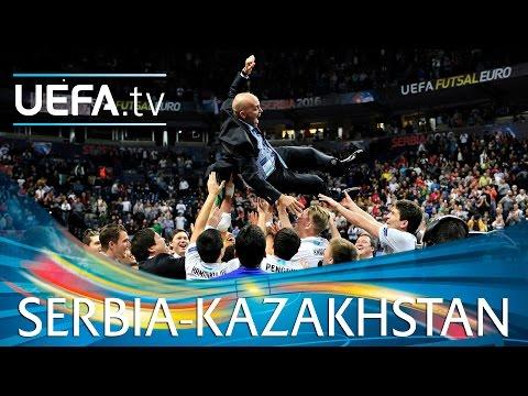 Futsal EURO Highlights: Watch Kazakhstan claim historic bronze