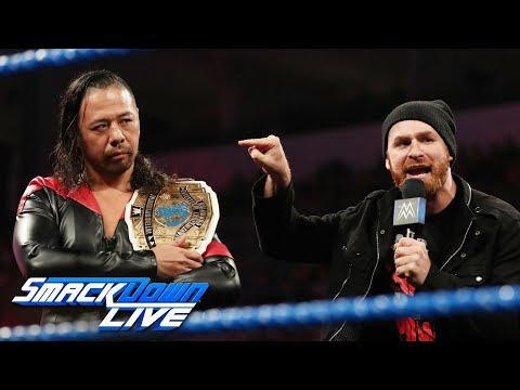 "Sami Zayn & Shinsuke Nakamura join forces on ""Miz TV"": SmackDown LIVE, Aug. 20, 2019"