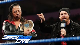 "Sami Zayn & Shinsuke Nakamura join forces on ""Miz TV"": SmackDown LIVE, Aug. 20, 2019"