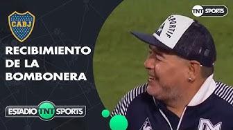 El homenaje de Boca a Diego Maradona