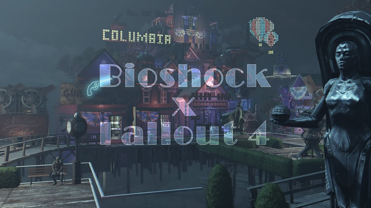 Amazing Fallout 4/Bioshock Infinite Mod Is Blowing Our Mind - Dorkly