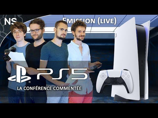 PLAYSTATION 5 : Nos réactions à la conférence de Sony ! (Rediffusion Live)