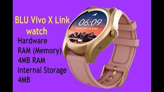 BLU Vivo X Link watch launched with best features!!!!