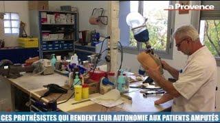 La Minute Santé : ces prothésistes qui rendent leur autonomie aux patients amputés