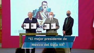 El presidente López Obrador aseguró que el general Cárdenas es el mejor presidente de México del Siglo XX