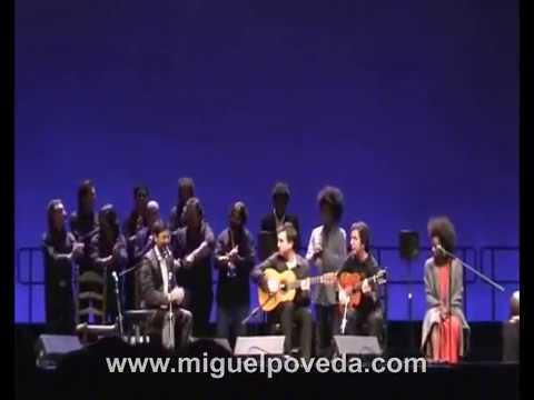 Miguel Poveda, Buika y Eva Yerbabuena
