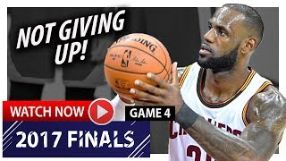 LeBron James Game 4 Triple-Double Highlights vs Warriors 2017 Finals - 31 Pts, 11 Ast, 10 Reb, EPIC!