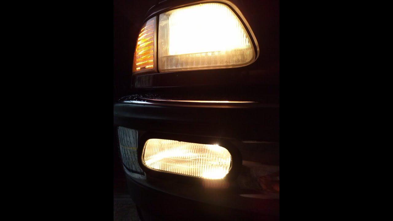 Installing Custom Fog Lights To Ford F 150 98