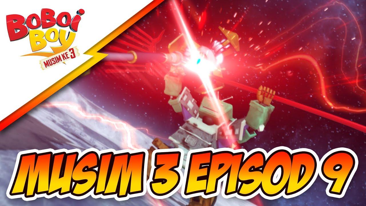 BoBoiBoy Musim 3 Episod 9: ScamBot vs SampahBot