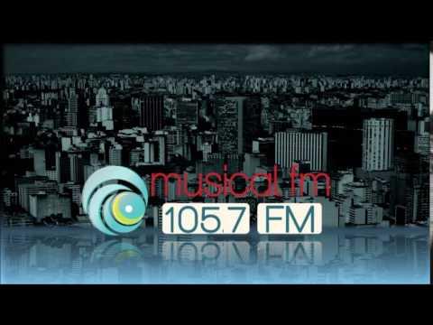 Prefixo - Musical FM - 105,7 MHz - São Paulo/SP