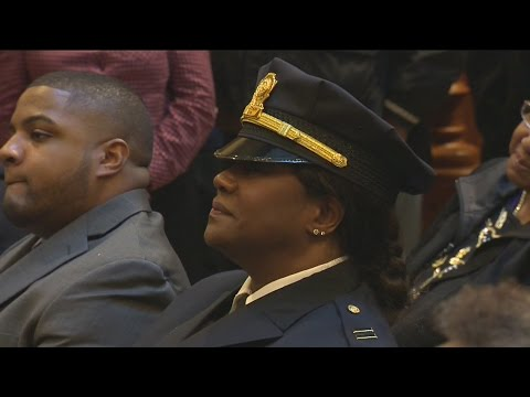 A New Haven Police Captain is making history