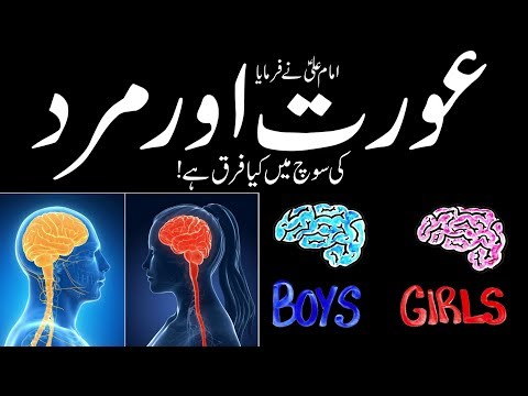Mard or Aurat Me Farq || Difference Between Men and Women Imam Ali as Says || Mehrban Ali