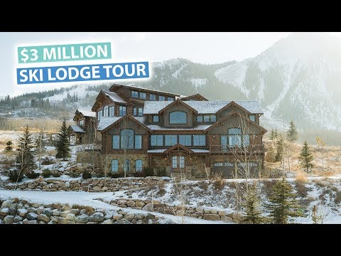 Our $3 Million Ski Mansion | Colorado USA Vlog