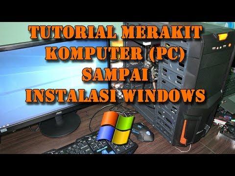 Cara Merakit Komputer Sampai Install Windows (Tugas Pengantar Organisasi Komputer)