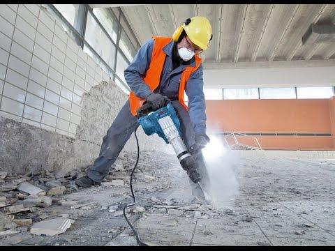Bosch Blue Professional - GSH 11 VC Demolition Hammer product review