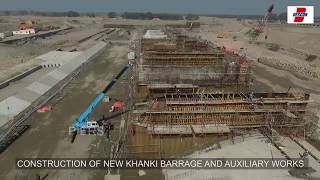 construction of new khanki barrage