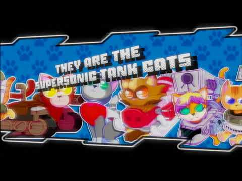 Supersonic Tank Cats: Reveal Trailer