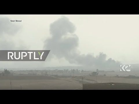 LIVE: Operations continue to liberate Mosul from IS