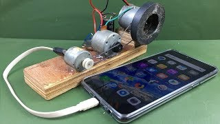 Free Energy 100% Mobile Charging self running machine generator using DC Motors thumbnail