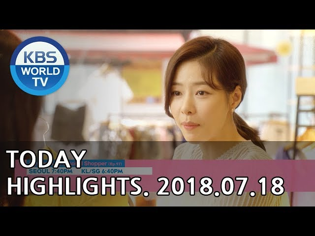 Highlights-Mysterious Personal Shopper E97/Sunny Again Tomorrow E47/Are You Human?E23-24[2018.07.18]