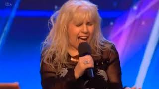 68 year old woman sings ACDC Highway To Hell   Britain´s Got Talent 2018
